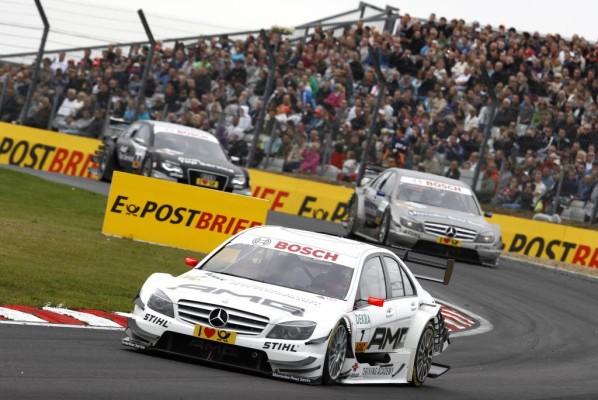 DTM: Paul Di Resta siegte in Brands Hatch