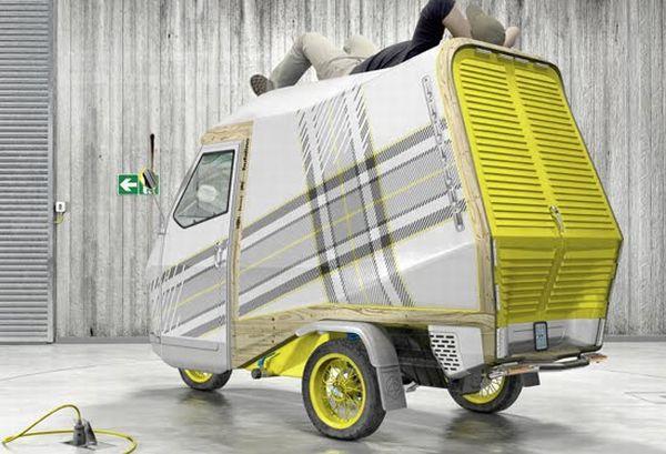 Das Wohnmobil für Minimalisten - Camper Bufalini