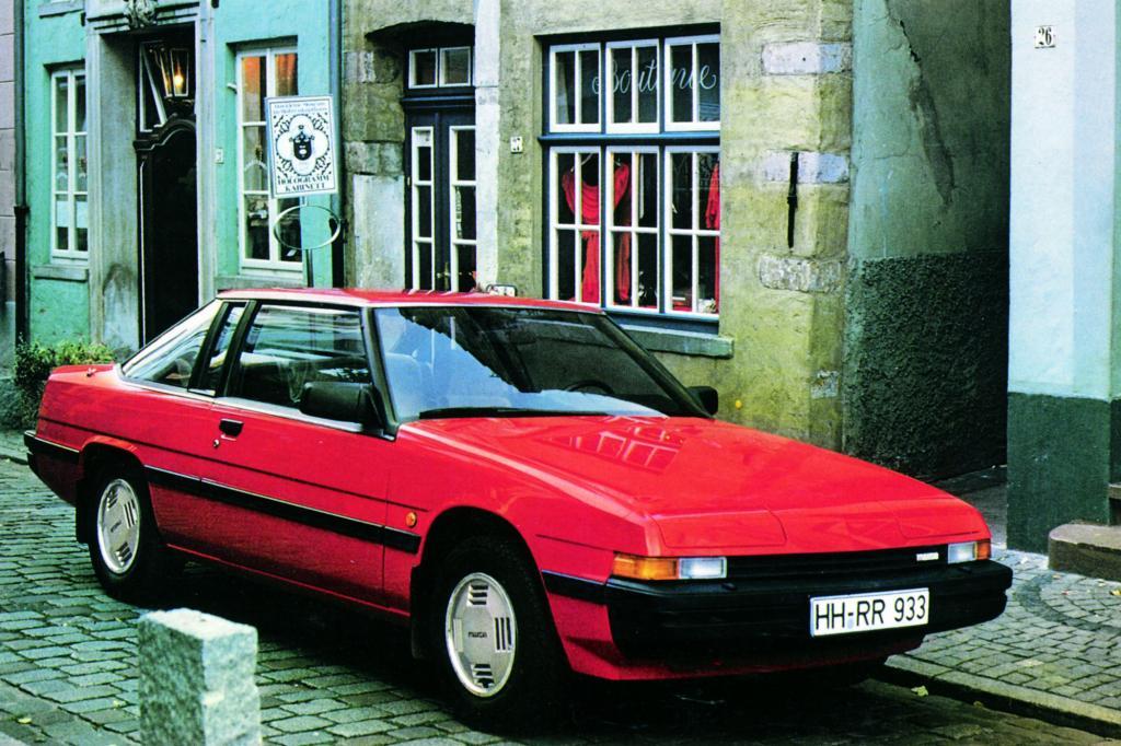 Das futuristische Mazda 929 Coupé von 1983