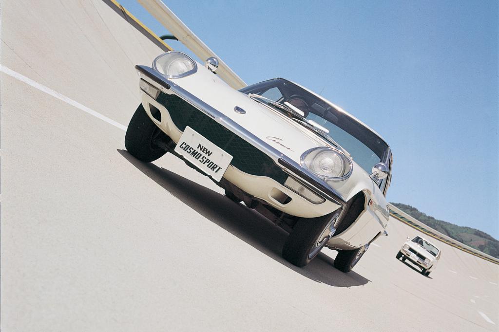 Das legendäre Cosmo 110 Coupé von 1968