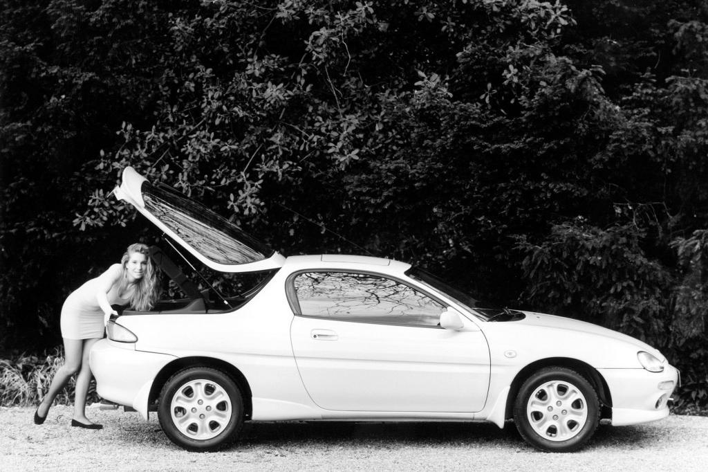 Den MX-3 von 1991 gab es mit einem kleinvolumigen 1,8-Liter-V6