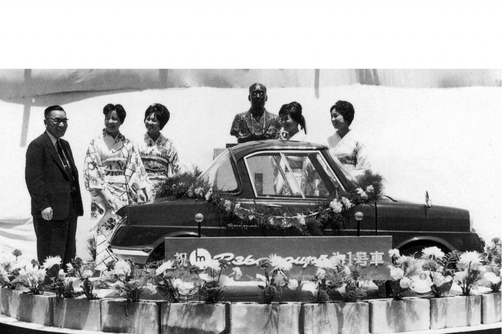 Der Anfang: Weltpremiere des Mazda R360 Coupé im Jahre 1960