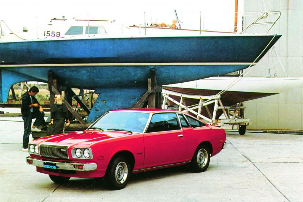 Der Mazda RX-5 (Bild von 1976) wurde auch in Deutschland angeboten