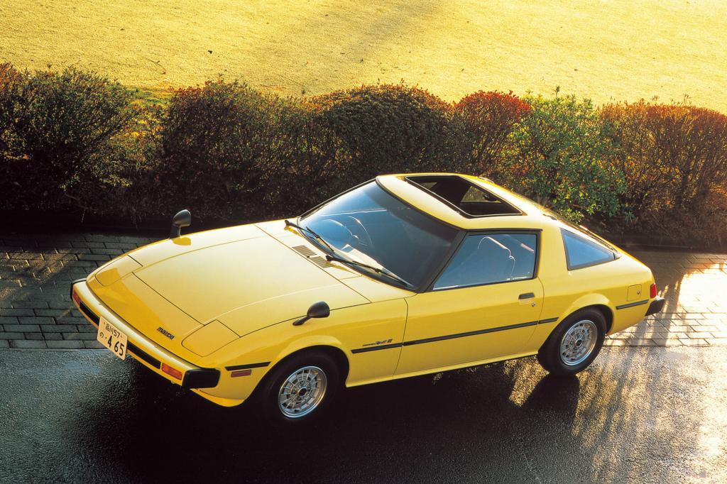 Der Mazda RX-7 erster Generation von 1980