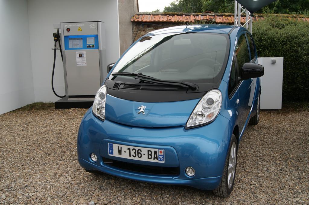 Der Peugeot iOn hat sich gut entwickelt