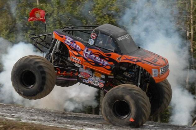 Der Truck ist 1200 PS stark, Bild von: Bad Habit