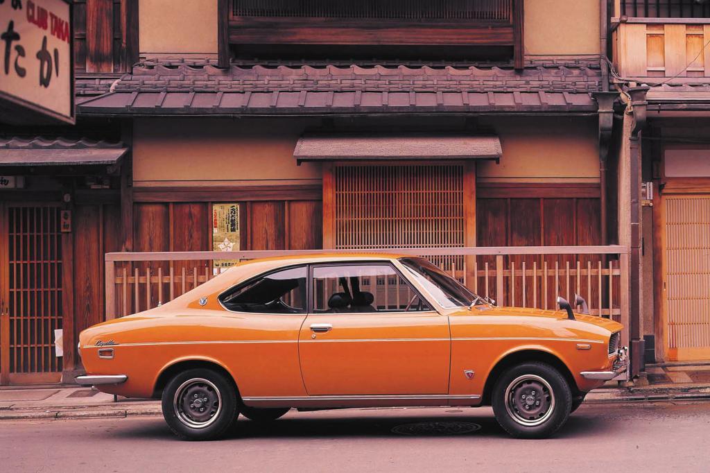 Der kompakte Mazda RX-2 von 1973
