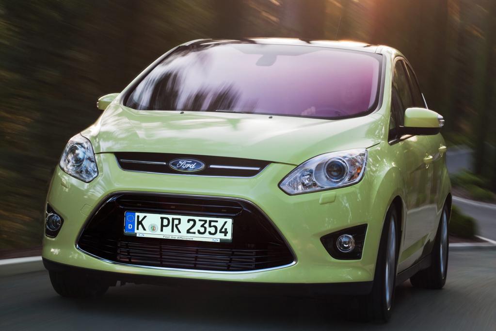 Der neue Ford C-Max rollt Mitte November auf den Markt.