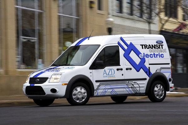 Die Elektro-Transporter kommen