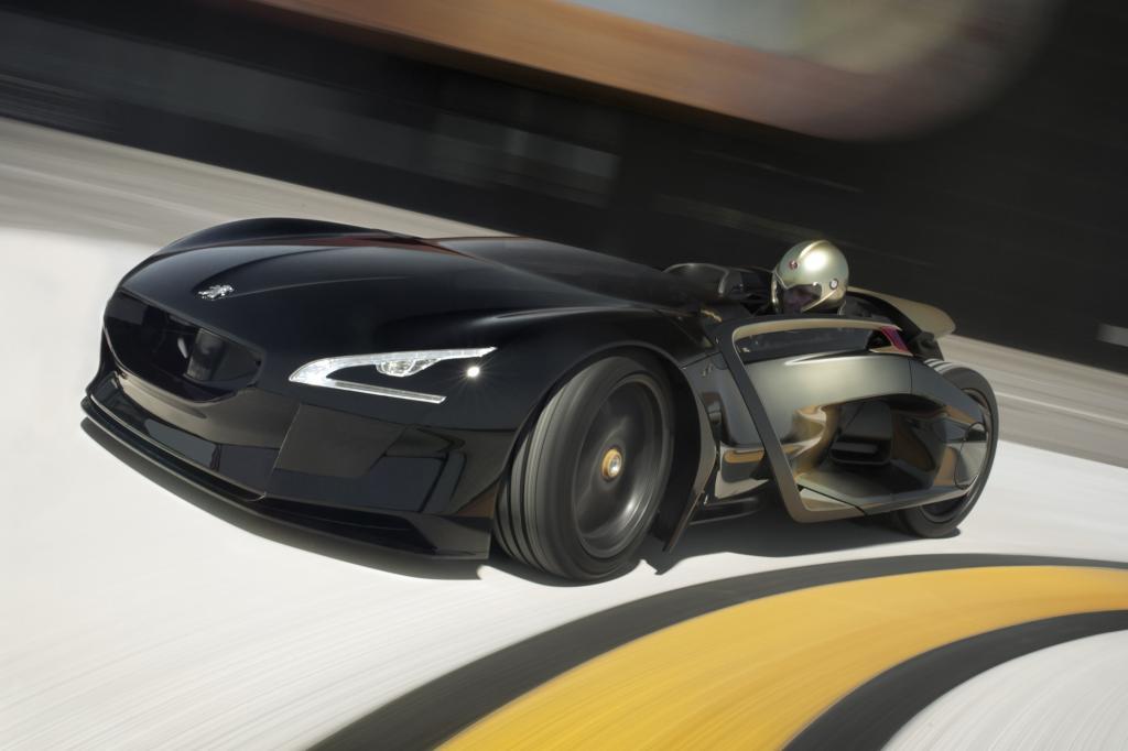 Die Studie EX1 zeigt bereits das neue Peugeot-Gesicht