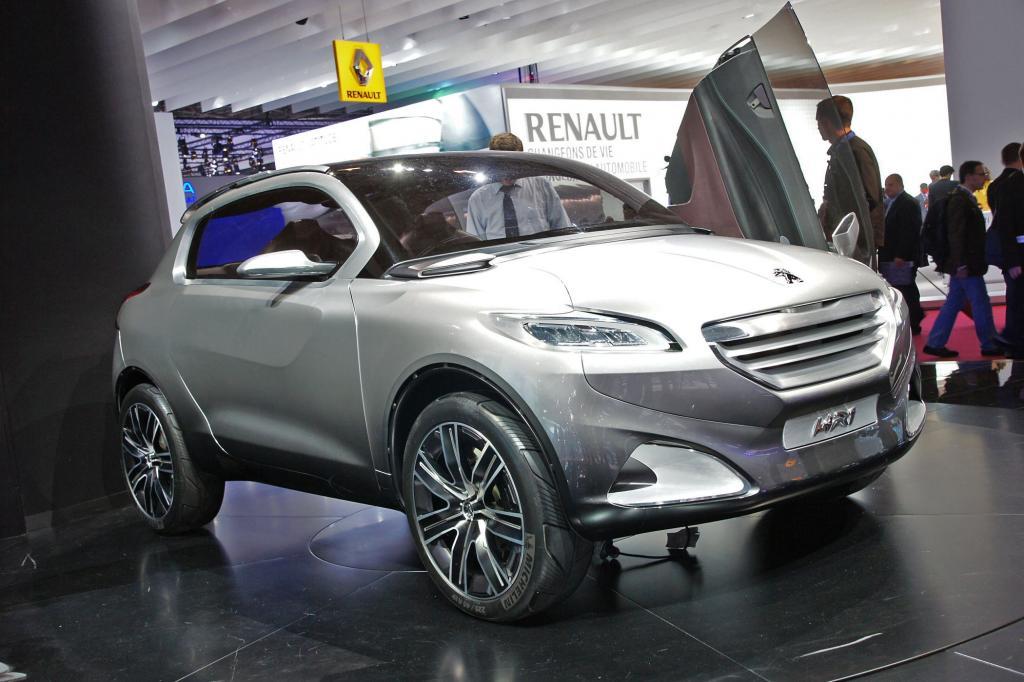 Die Studie HR1 von Peugeot will eine Mischung aus Coupé und SUV sein