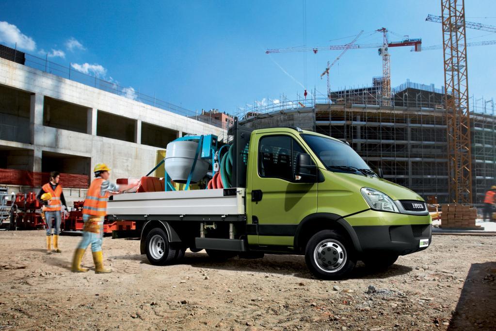Die diesjährige IAA steht im Zeichen der alternativ betriebenen Transporter. Hier: Iveco E-Daily.