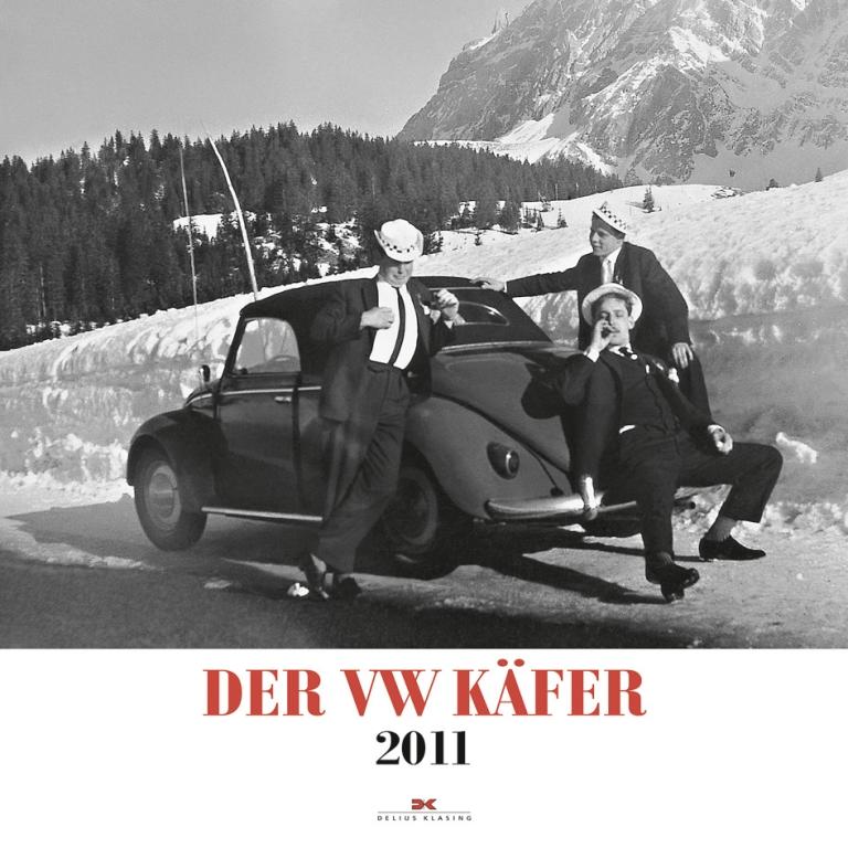Die schönsten Auto-Kalender 2011 Teil 2: Der VW Käfer-Kalender, Foto: Delius Klasing