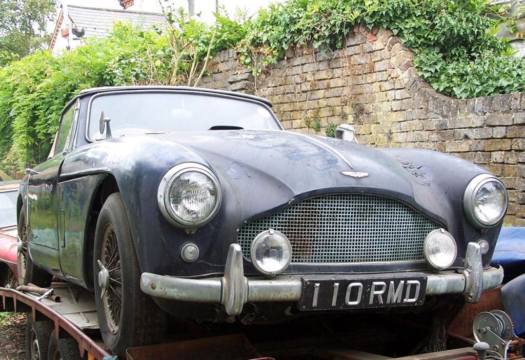 Dieser rostige alte Aston Martin wurde für 243.000 Euro versteigert, Foto: Barons
