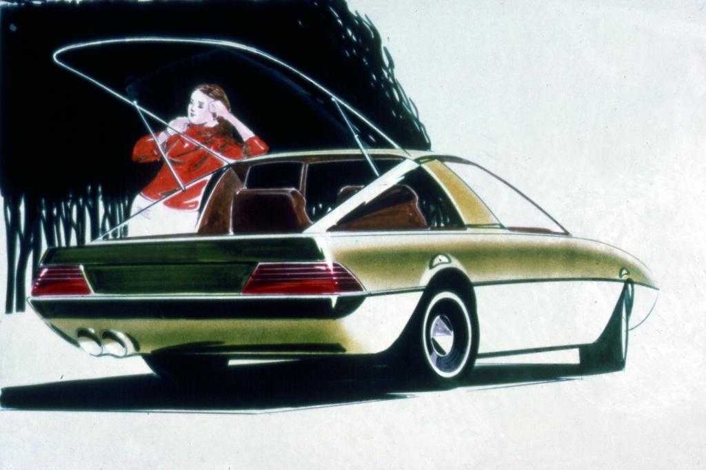 Ein auf das Jahr 1976 datierter Entwurf für den RX-7