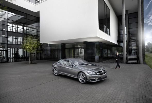 Fahrbericht: Mercedes CL 63 AMG - Kraftakt im Smoking