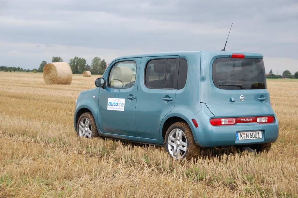 Fahrbericht Nissan Cube 1.6 mit 81 kW/110 PS: Fluffy-Matte inklusive