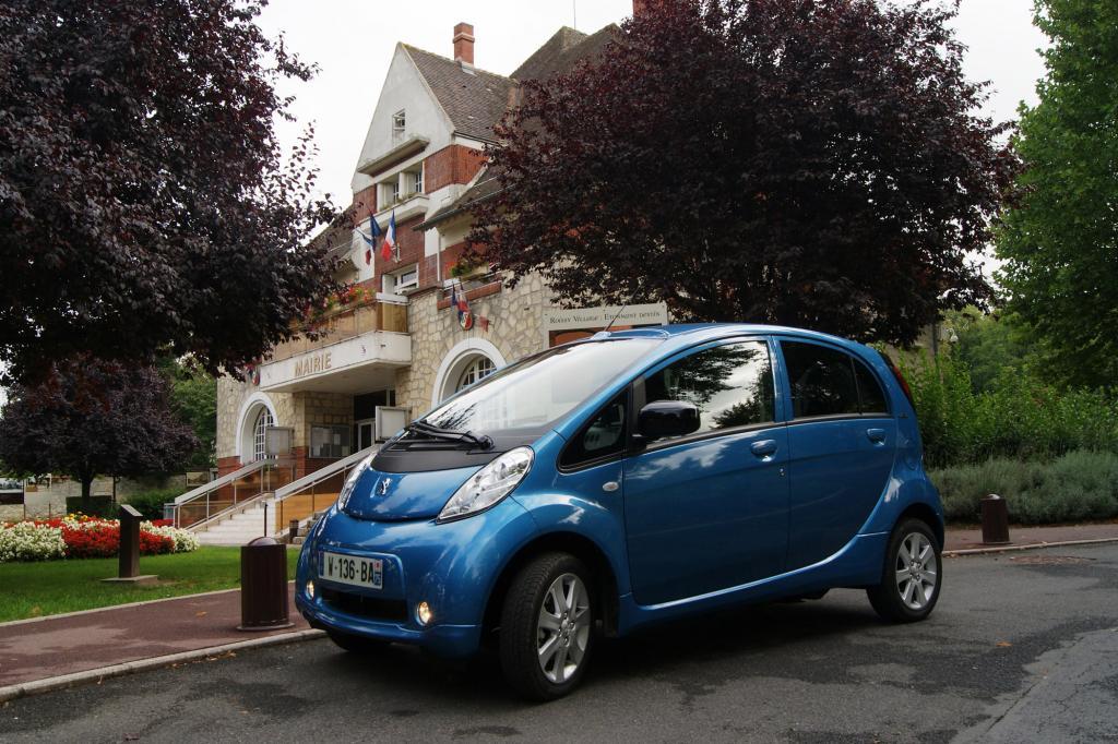 Fahrbericht: Peugeot iOn - Fahren nach Farben