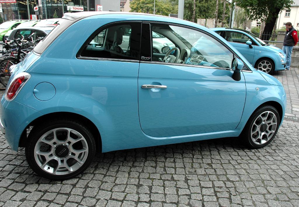 Fiat 500 TwinAir: Seitenansicht.