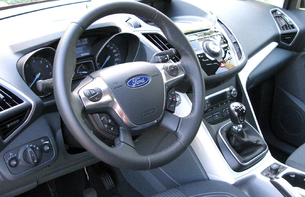 Ford C-Max: Blick ins Cockpit