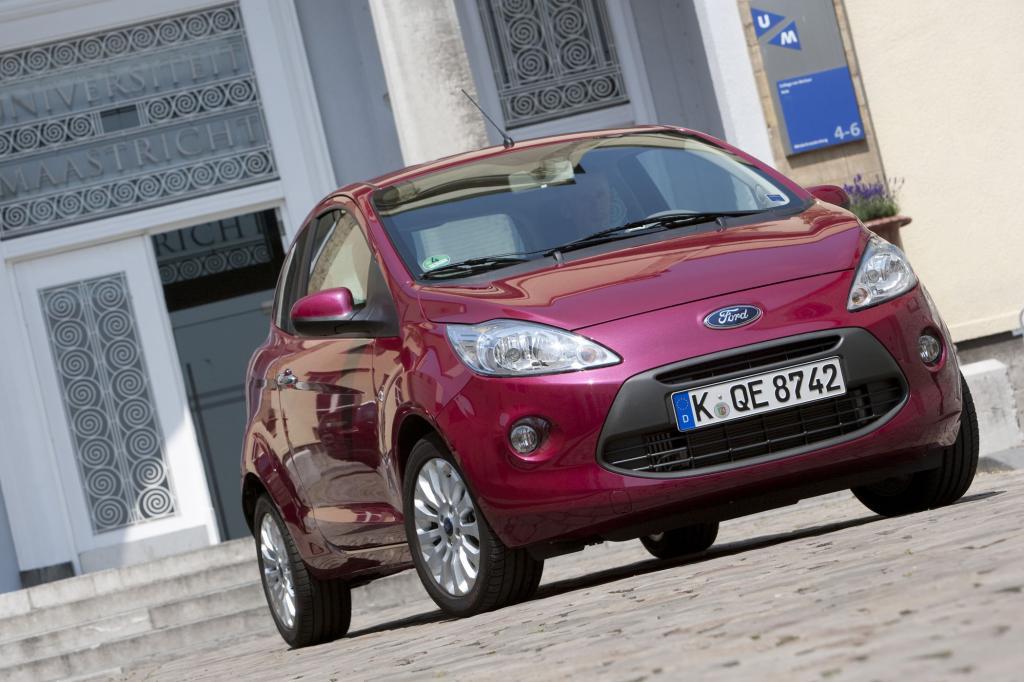 Ford Ka - Jetzt mit Elektroantrieb