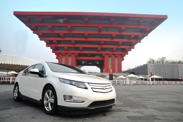 General Motors schickt zwei Chevrolet Volt nach China