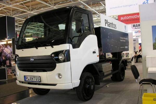German E-Cars enthüllt emissionsfreien Lastenträger