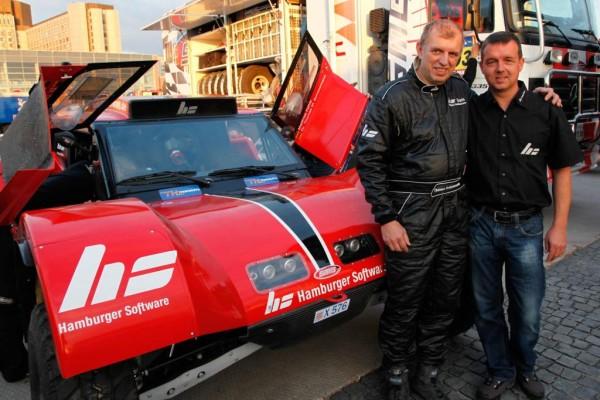 HS-Rallyeteam setzt auf Buggy mit Dieselmotor