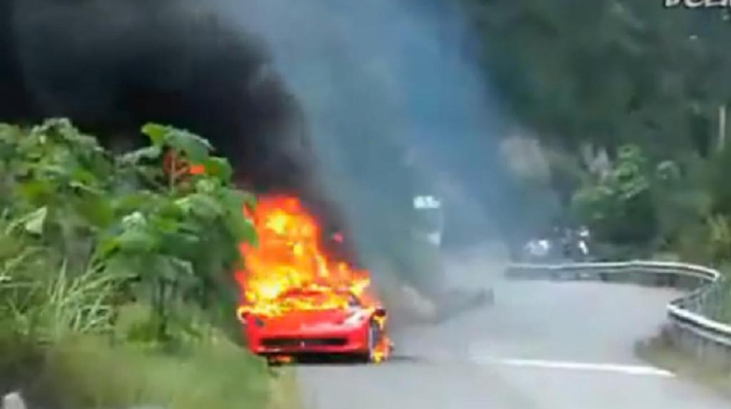 Heiß, heißer, Ferrari 458 Italia - die peinliche Rückrufaktion