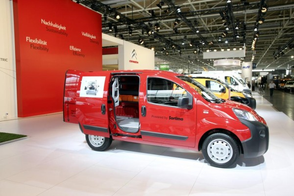 IAA Nutzfahrzeuge 2010: Citroën stellt 22 Fahrzeuge aus