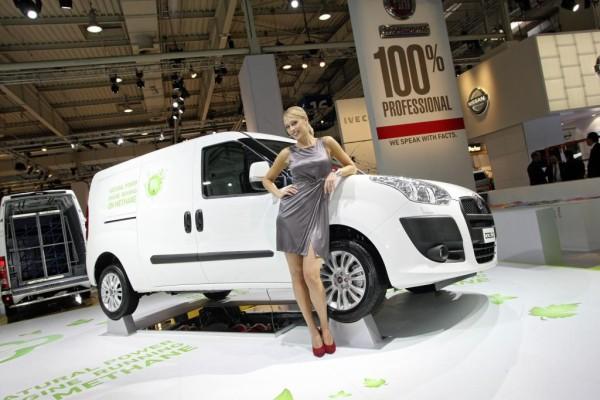 IAA Nutzfahrzeuge 2010: Fiat Doblò Natural Power ab 19 850 Euro erhältlich