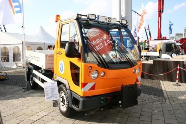 IAA Nutzfahrzeuge 2010: Multicar stellt neue Baureihe M 27 2.0 vor