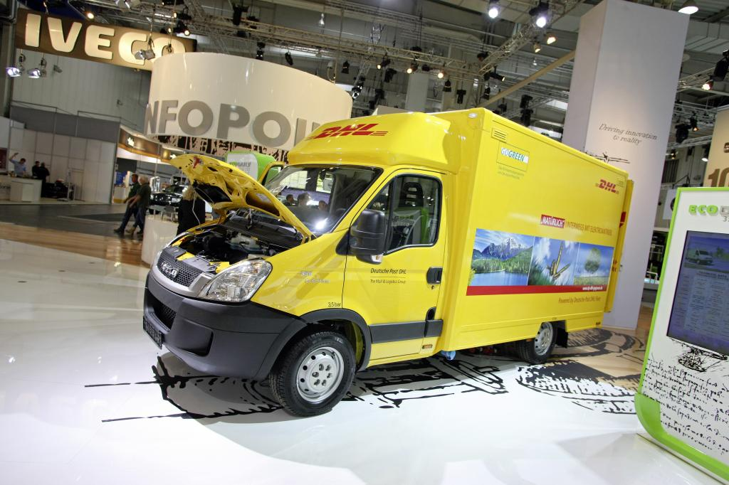 Iveco Ecodaily Electric.