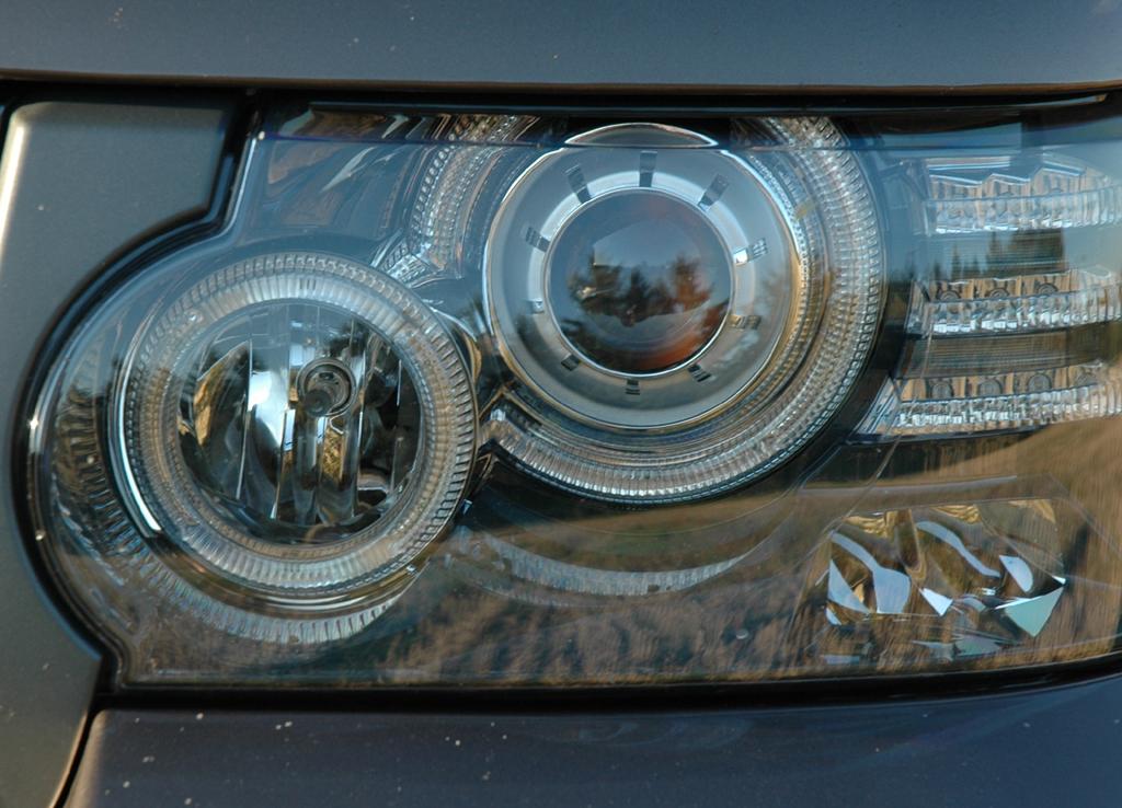 Land Rover Range Rover: Moderne Leuchteinheit vorn.