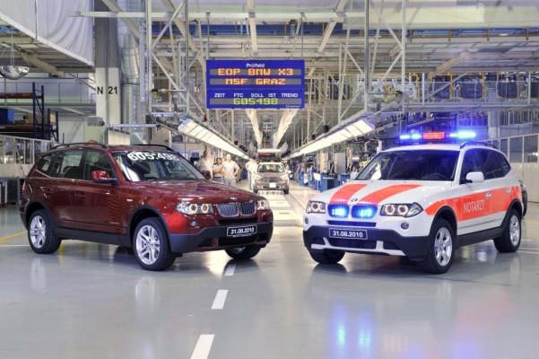 Letzter BMW X3 bei Magna vom Band gelaufen