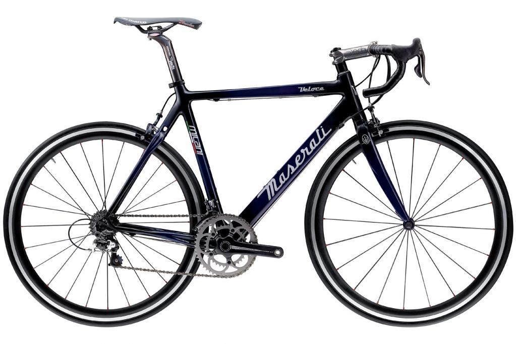 Maserati-Fahrrad von Milani