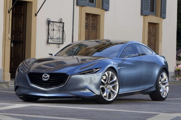Mazda Shinari: Aerodynamische Coupé-Studie im Zukunftsdesign