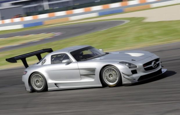 Mercedes-Benz SLS AMG GT3 startet erstmals bei VLN-Lauf