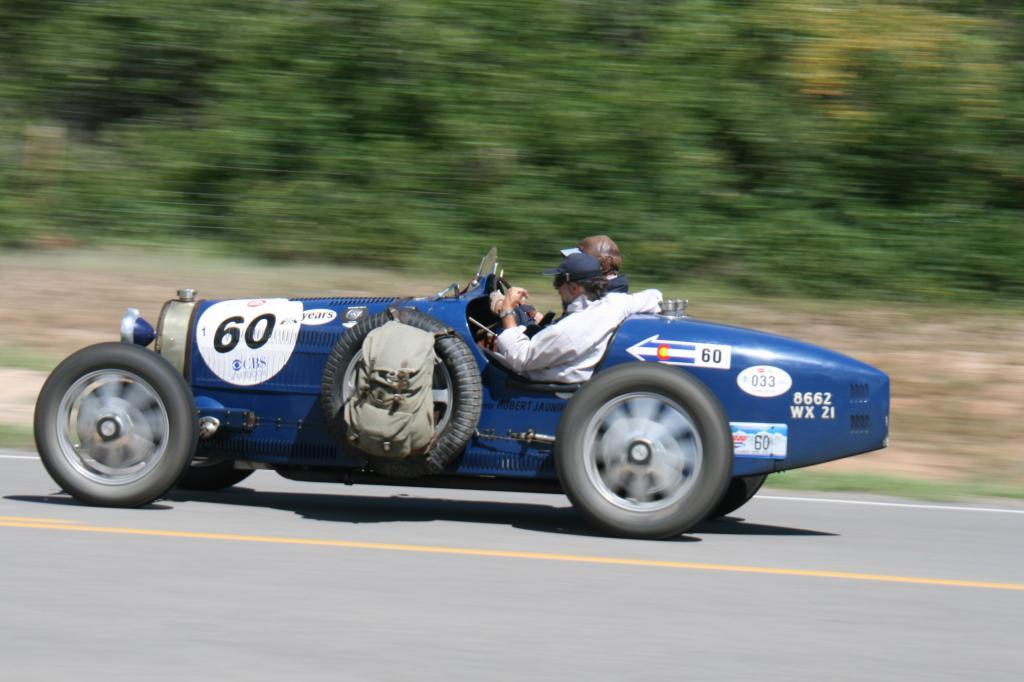 Mit dem Bugatti durch die USA