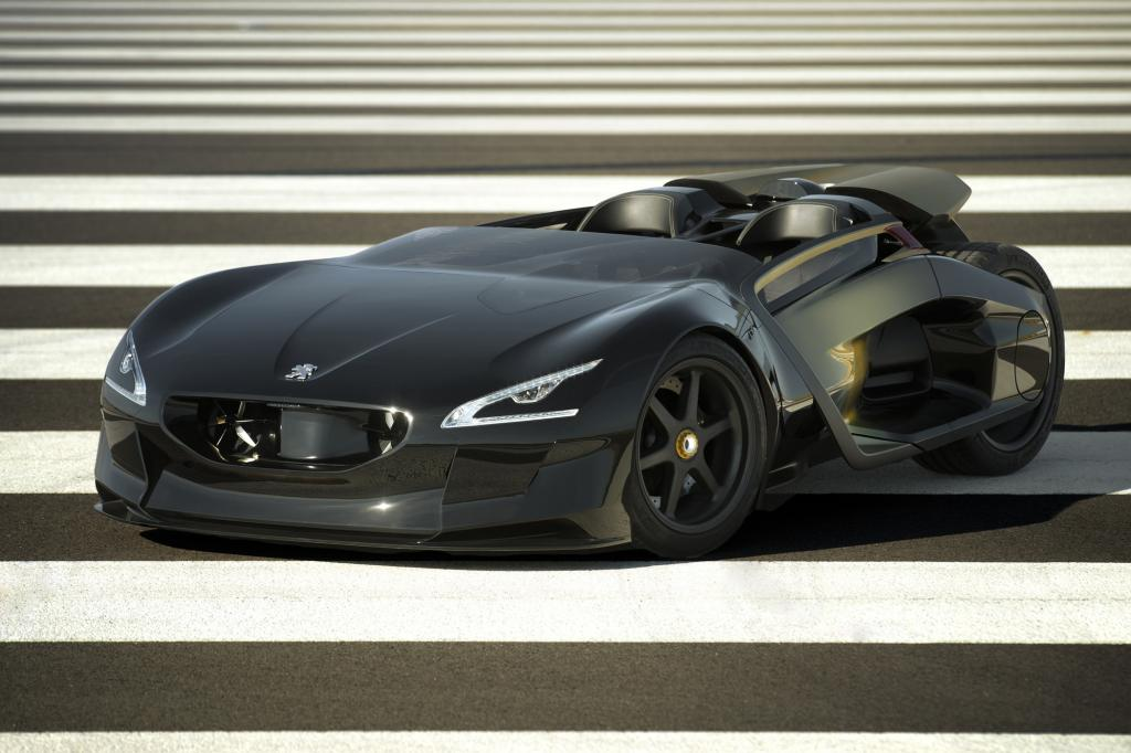 Mit dem EX1 will Peugeot Elektromobilität faszinierend gestalten