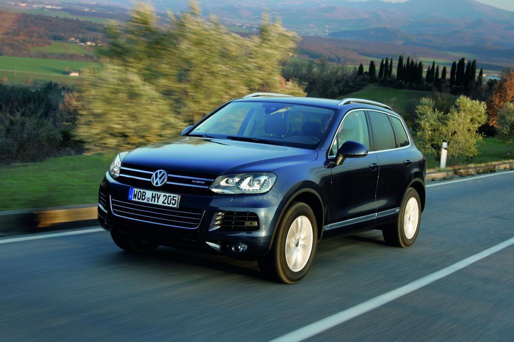 Mit dem Touareg zeigt VW erstmals ein Hybrid