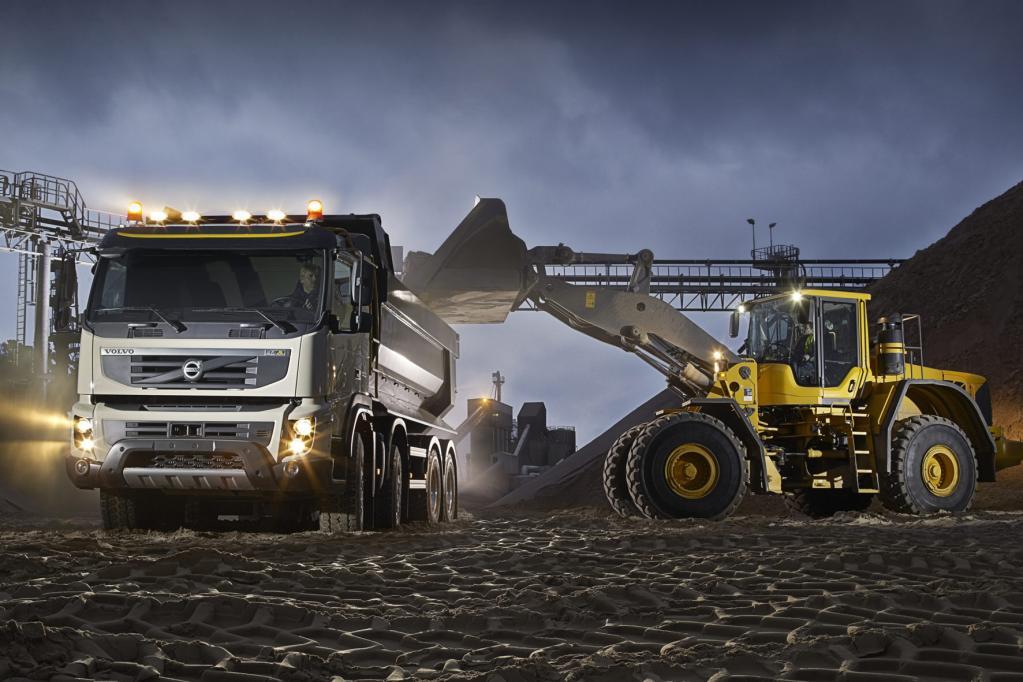 Mit dem Volvo FMX will der Hersteller die Führung im Baufahrzeugsegment übernehmen.