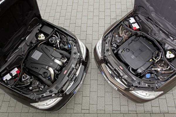 Neue Motoren für Mercedes-Benz S-Klasse