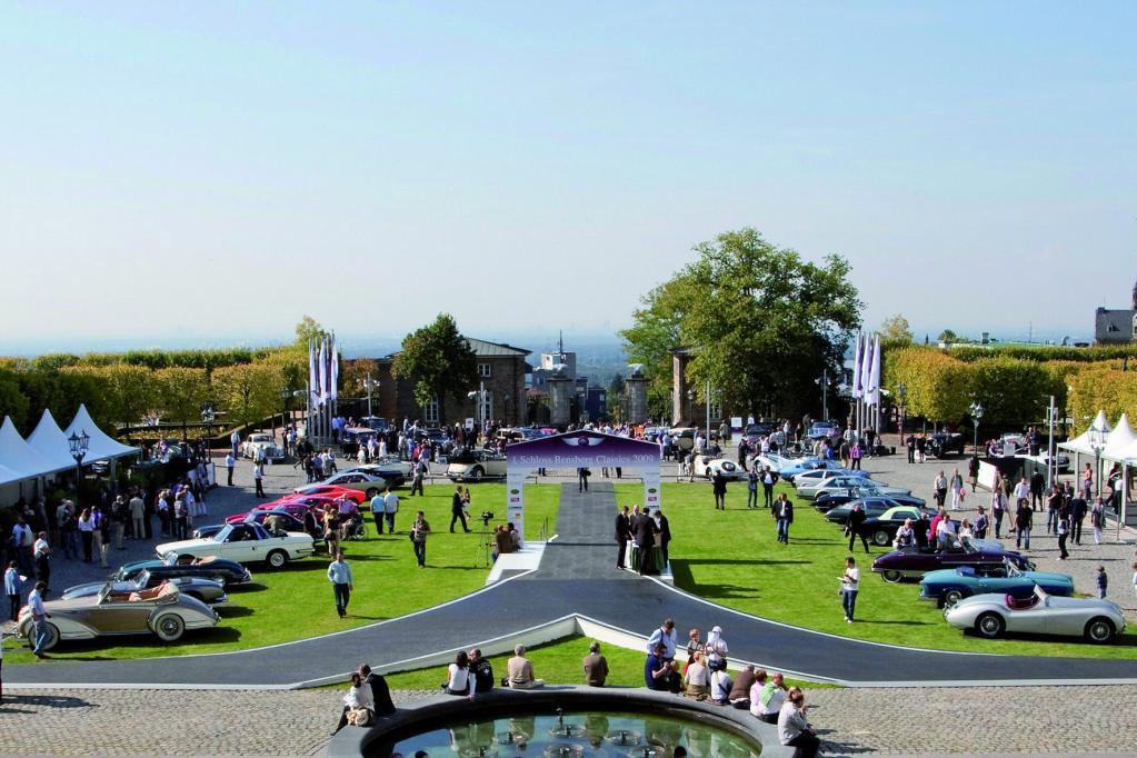 Oldtimer-Rallye im Bergischen Land