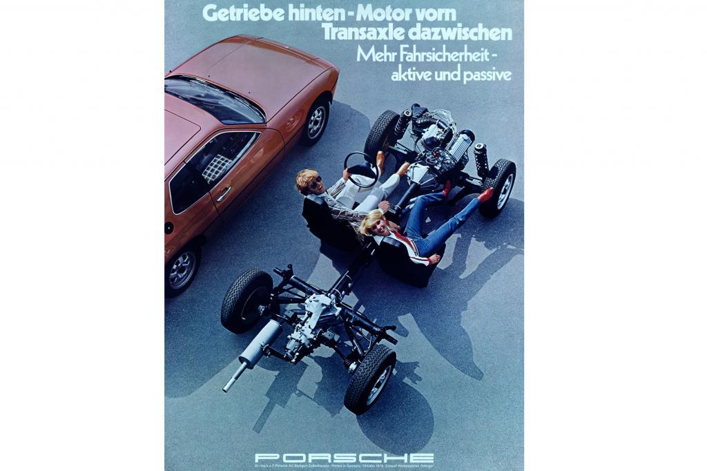 Porsche 924 Werbung, 1976