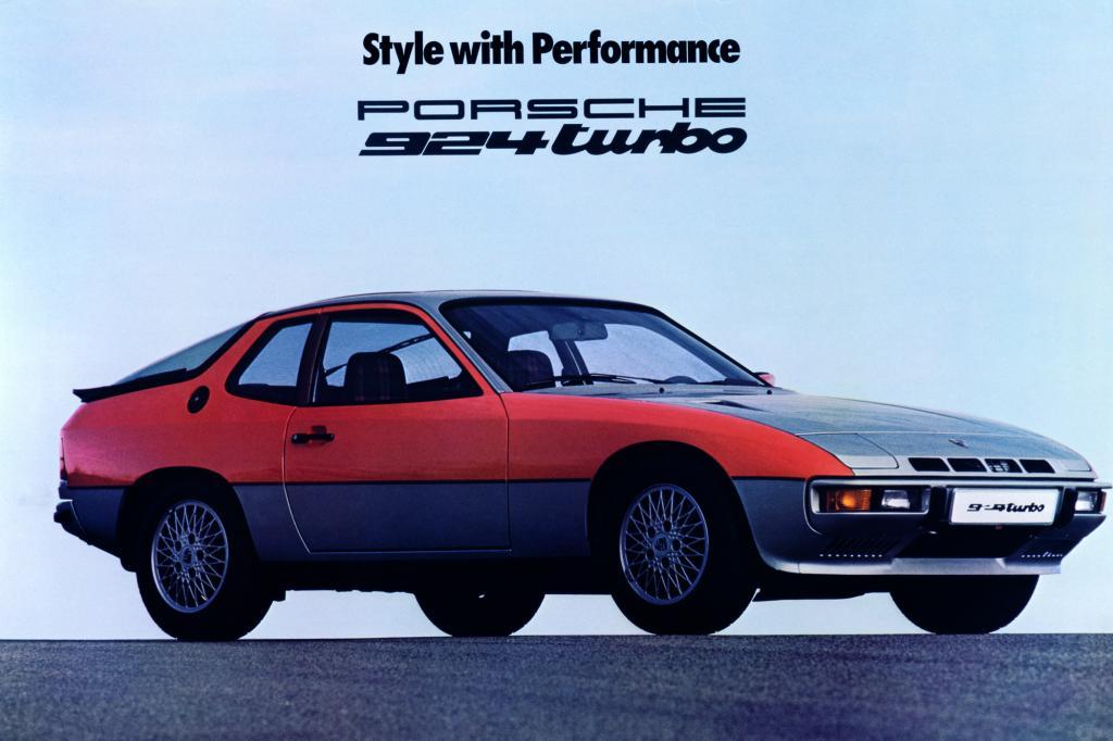 Porsche 924 Werbung, 1979