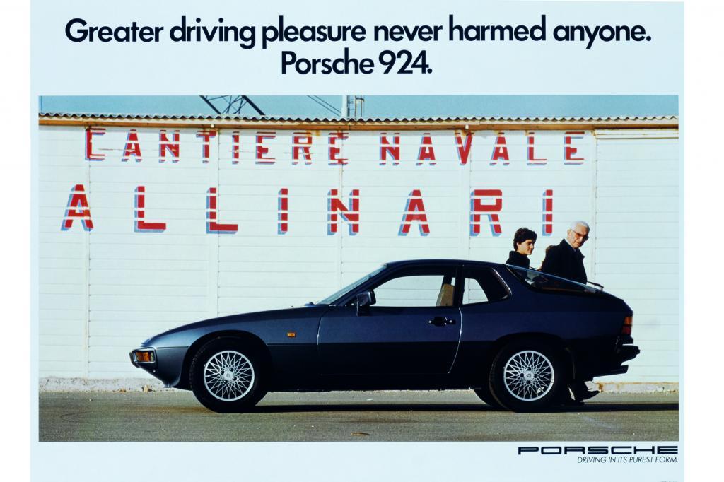 Porsche 924 Werbung, 1981