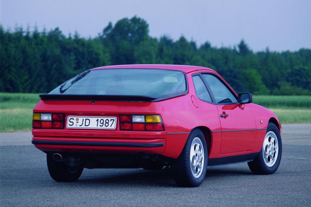 Porsche 924S, 1987