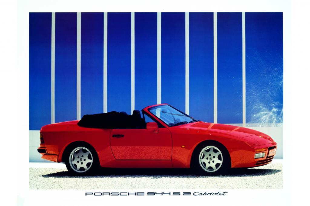 Porsche 944 S2 Cabriolet Werbung, 1989