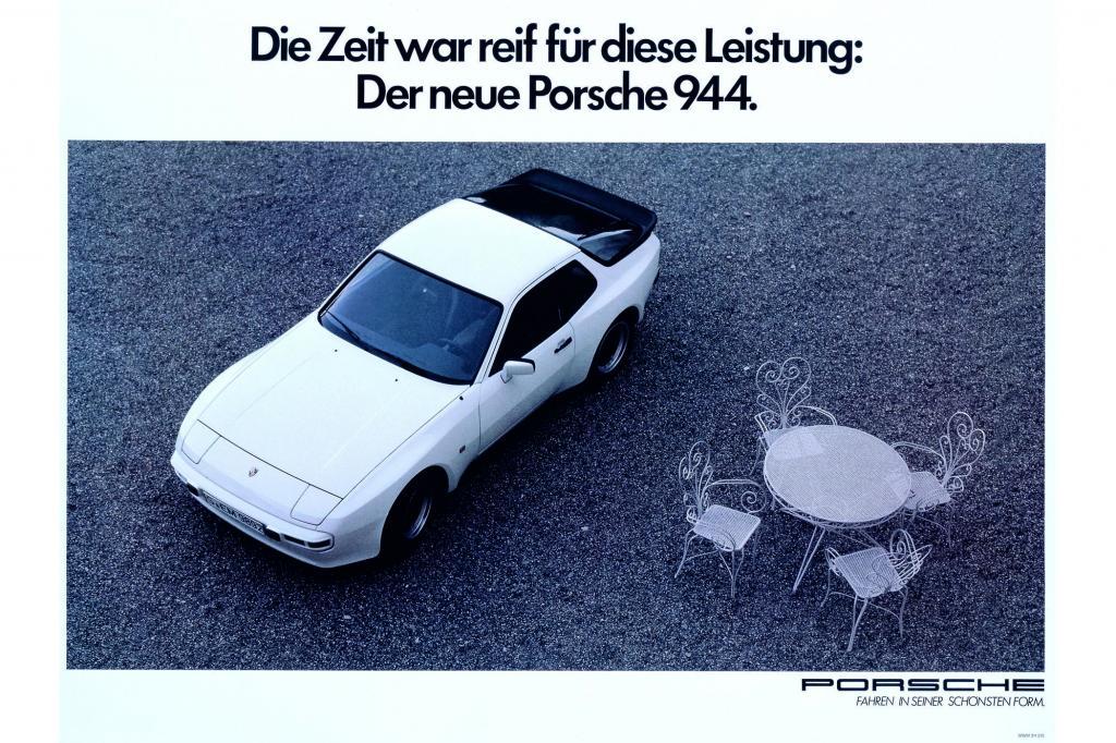 Porsche 944 Webung, 1981